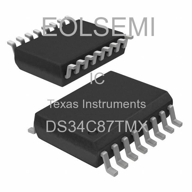 DS34C87TMX - Texas Instruments
