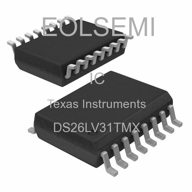 DS26LV31TMX - Texas Instruments