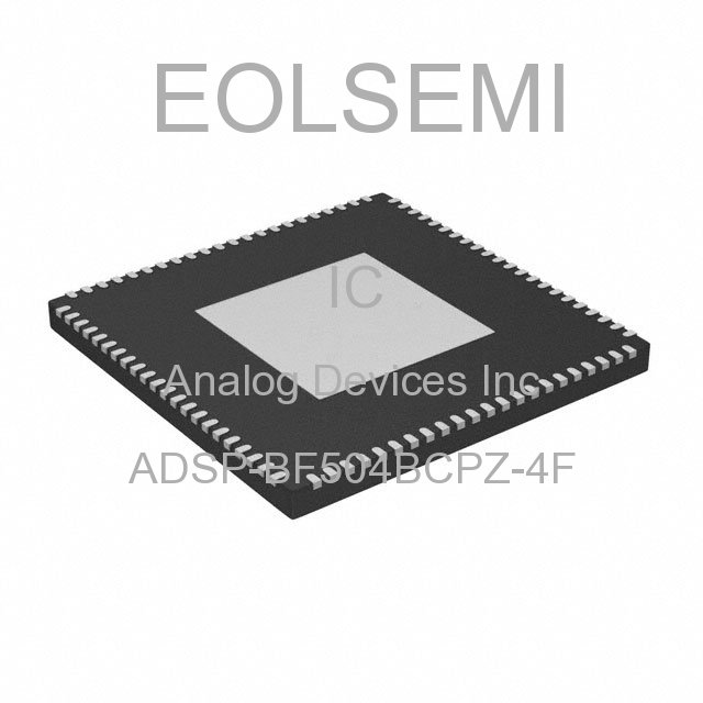 ADSP-BF504BCPZ-4F - Analog Devices Inc - IC