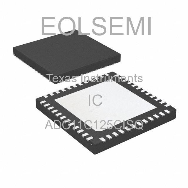 ADC11C125CISQ - Texas Instruments - IC