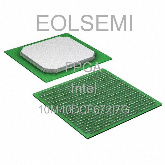 10M40DCF672I7G - Intel -
