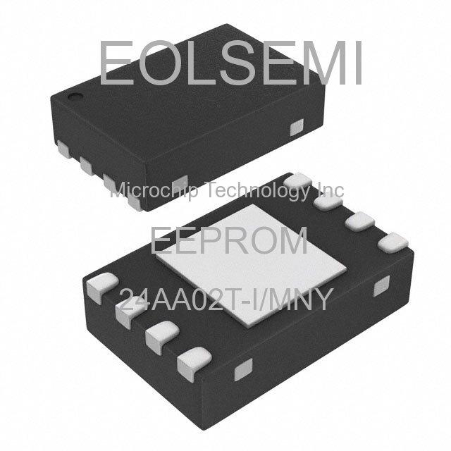 24AA02T-I/MNY - Microchip Technology Inc - EEPROM