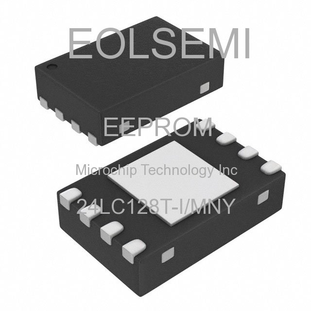 24LC128T-I/MNY - Microchip Technology Inc - EEPROM