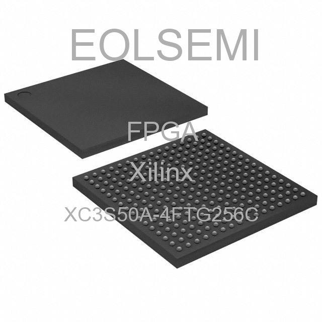 XC3S50A-4FTG256C - Xilinx