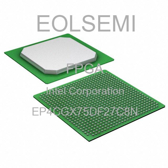 EP4CGX75DF27C8N - Intel Corporation