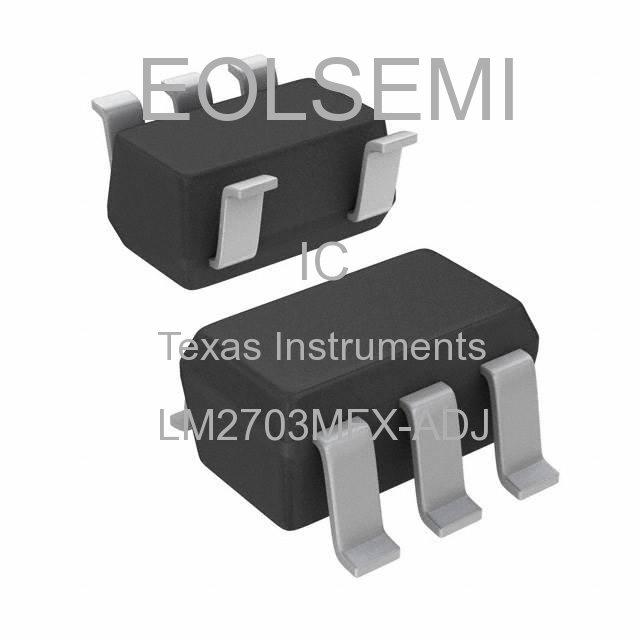 LM2703MFX-ADJ - Texas Instruments