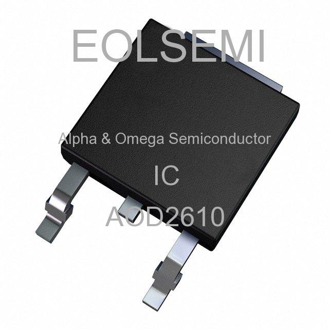 AOD2610 - Alpha & Omega Semiconductor - IC