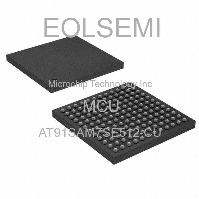 AT91SAM7SE512-CU - Microchip Technology Inc - MCU