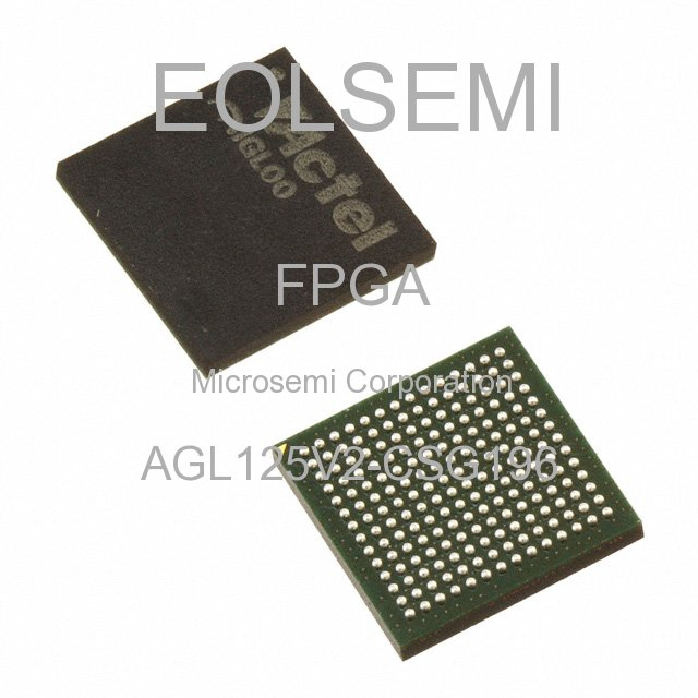 AGL125V2-CSG196 - Microsemi Corporation