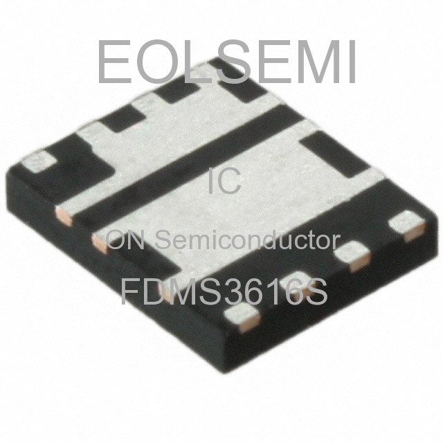 FDMS3616S - ON Semiconductor