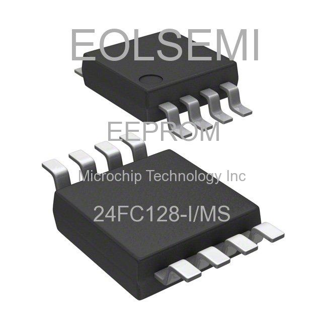 24FC128-I/MS - Microchip Technology Inc - EEPROM