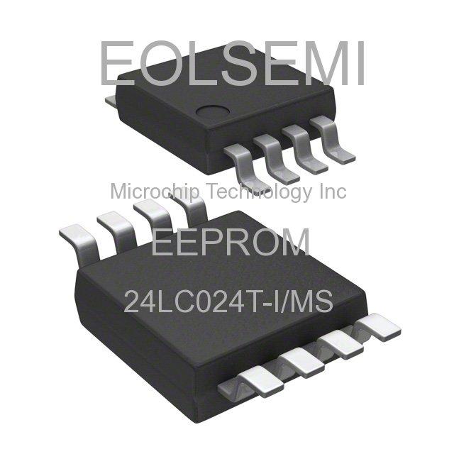 24LC024T-I/MS - Microchip Technology Inc - EEPROM