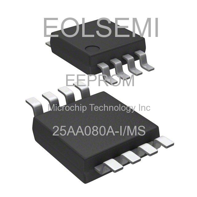 25AA080A-I/MS - Microchip Technology Inc -