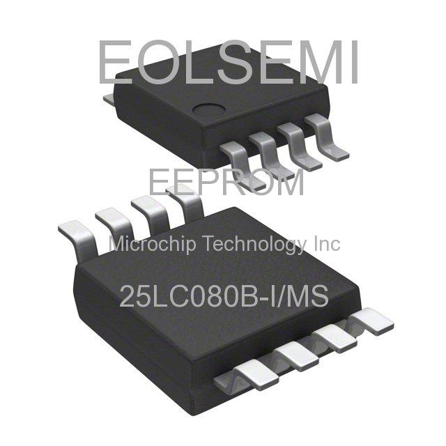 25LC080B-I/MS - Microchip Technology Inc -