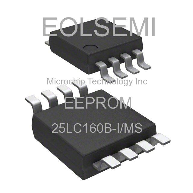 25LC160B-I/MS - Microchip Technology Inc - EEPROM