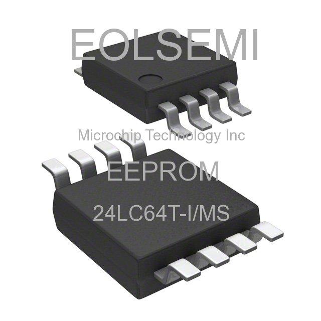 24LC64T-I/MS - Microchip Technology Inc - EEPROM