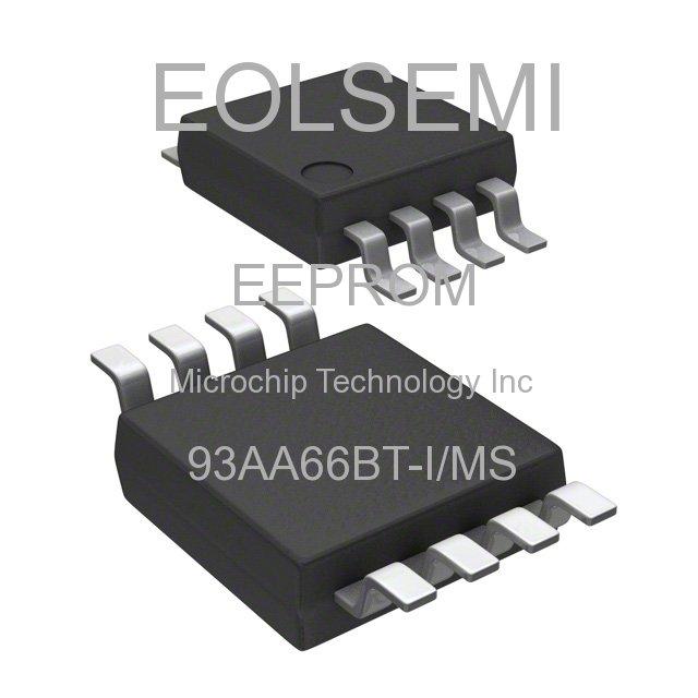 93AA66BT-I/MS - Microchip Technology Inc - EEPROM