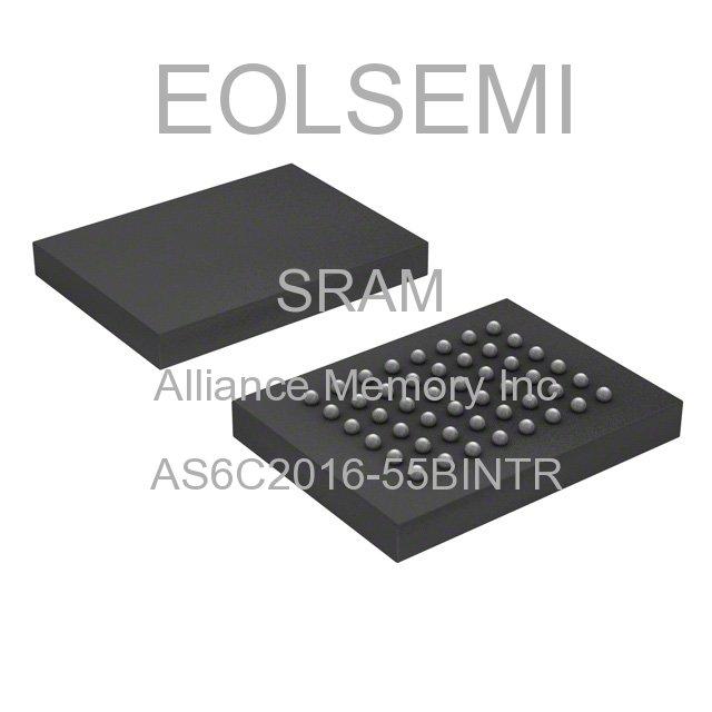 AS6C2016-55BINTR - Alliance Memory Inc