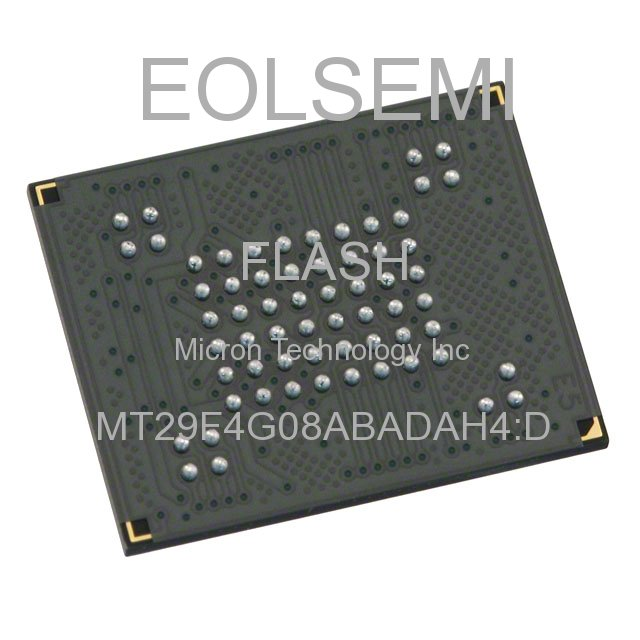 MT29F4G08ABADAH4:D - Micron Technology Inc