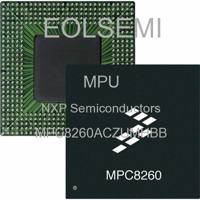 MPC8260ACZUMHBB - NXP Semiconductors