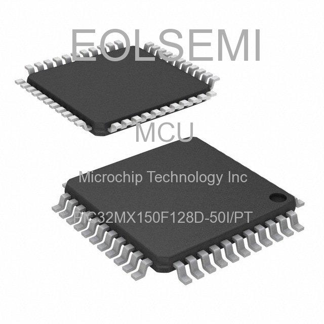 PIC32MX150F128D-50I/PT - Microchip Technology Inc