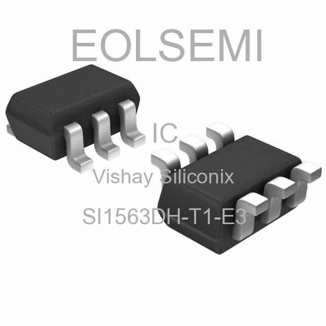 SI1563DH-T1-E3 - Vishay Siliconix