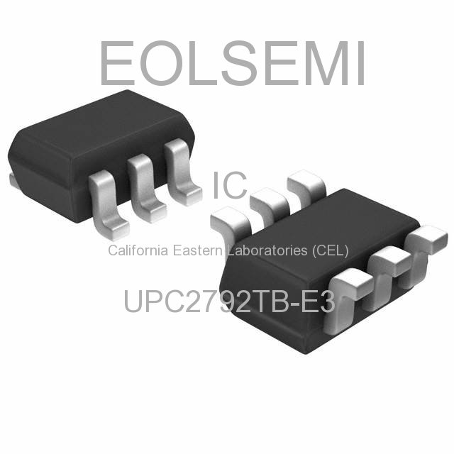 UPC2792TB-E3 - California Eastern Laboratories (CEL)
