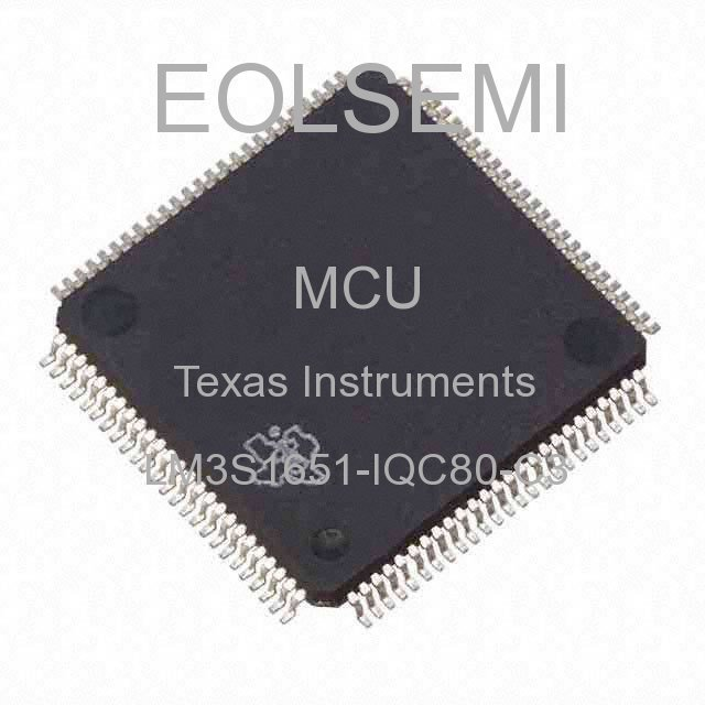 LM3S1651-IQC80-C3 - Texas Instruments