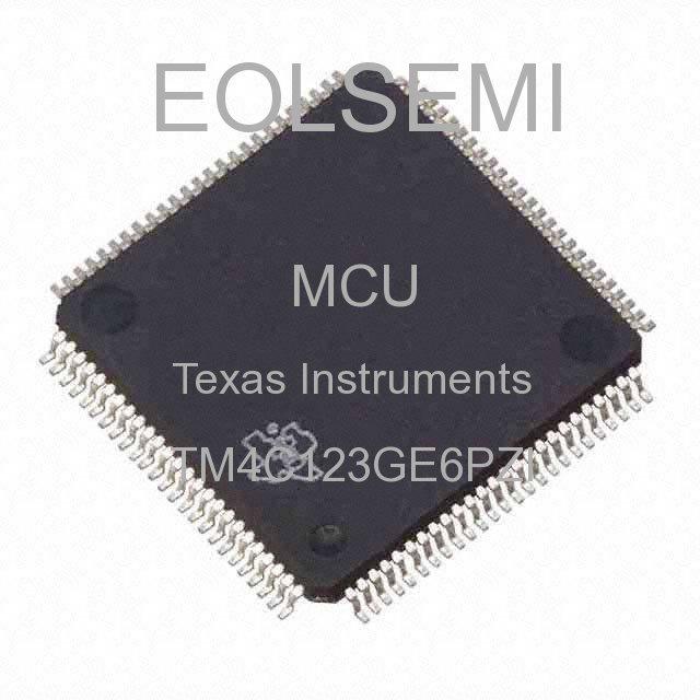 TM4C123GE6PZI - Texas Instruments
