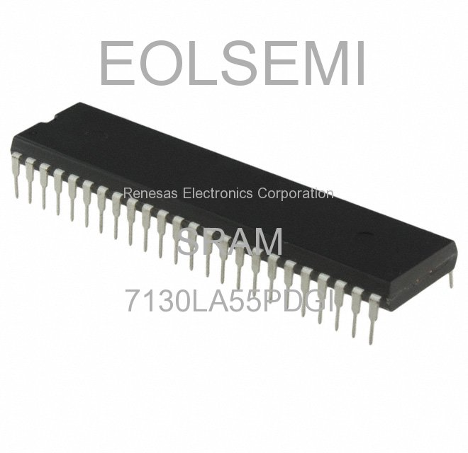 7130LA55PDGI - Renesas Electronics Corporation - SRAM