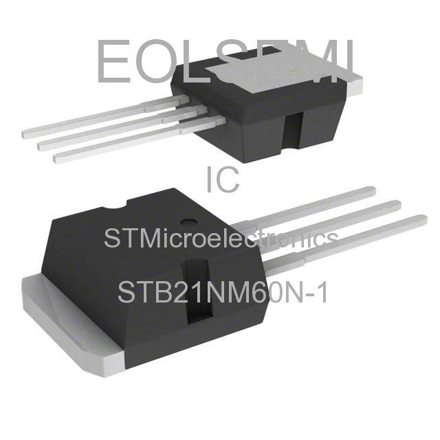 STB21NM60N-1 - STMicroelectronics