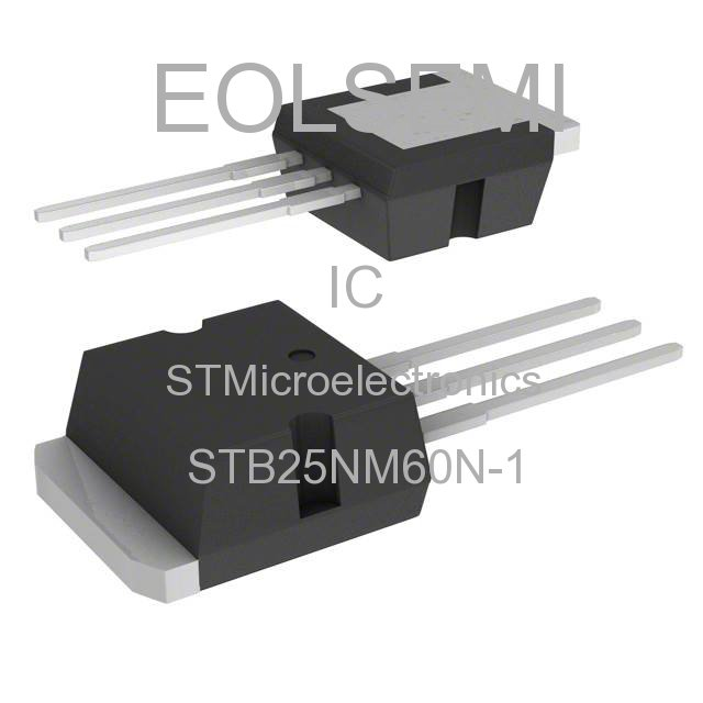 STB25NM60N-1 - STMicroelectronics