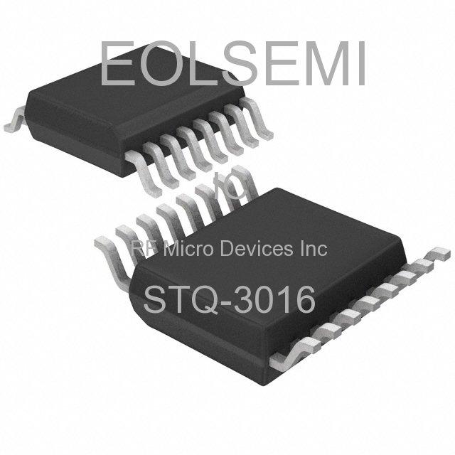 STQ-3016 - RF Micro Devices Inc