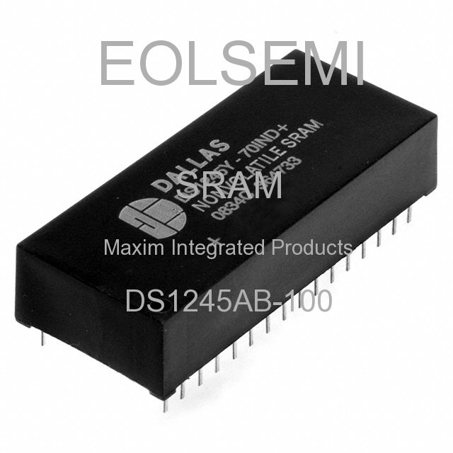 DS1245AB-100 - Maxim Integrated Products
