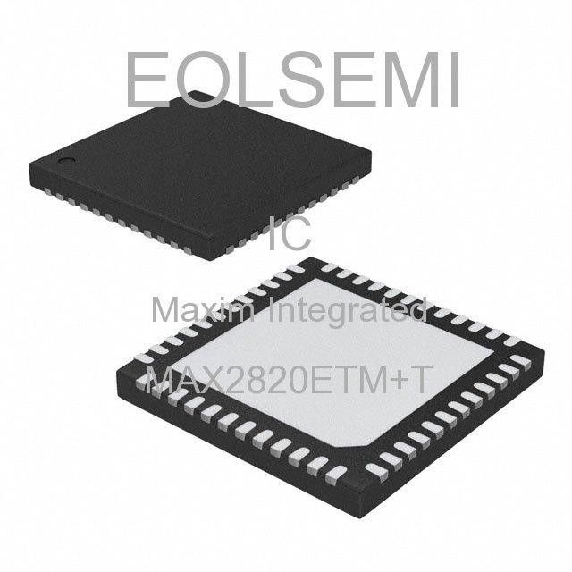 MAX2820ETM+T - Maxim Integrated