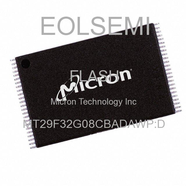 MT29F32G08CBADAWP:D - Micron Technology Inc