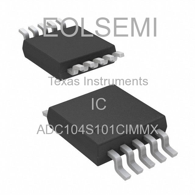 ADC104S101CIMMX - Texas Instruments - IC