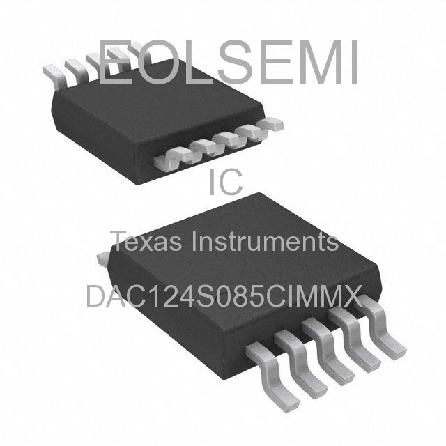 DAC124S085CIMMX - Texas Instruments