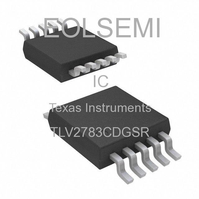 TLV2783CDGSR - Texas Instruments