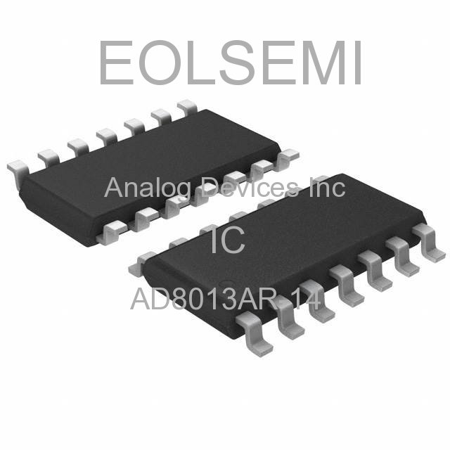 AD8013AR-14 - Analog Devices Inc - IC