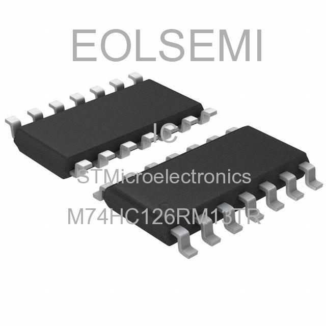 M74HC126RM13TR - STMicroelectronics