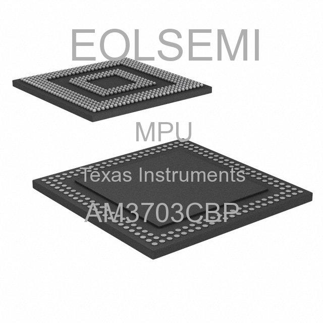 AM3703CBP - Texas Instruments