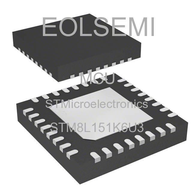 STM8L151K6U3 - STMicroelectronics