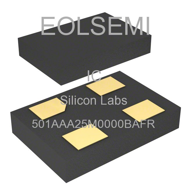 501AAA25M0000BAFR - Silicon Labs