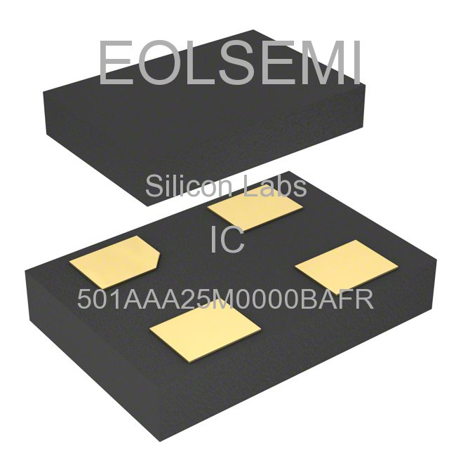 501AAA25M0000BAFR - Silicon Labs - IC