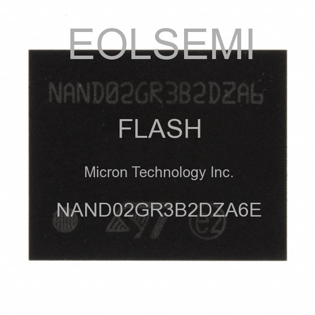 NAND02GR3B2DZA6E - Micron Technology Inc.