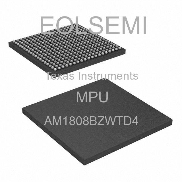 AM1808BZWTD4 - Texas Instruments - MPU