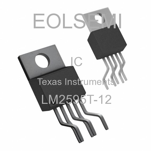LM2595T-12 - Texas Instruments