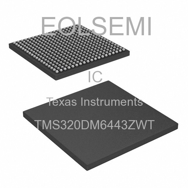 TMS320DM6443ZWT - Texas Instruments