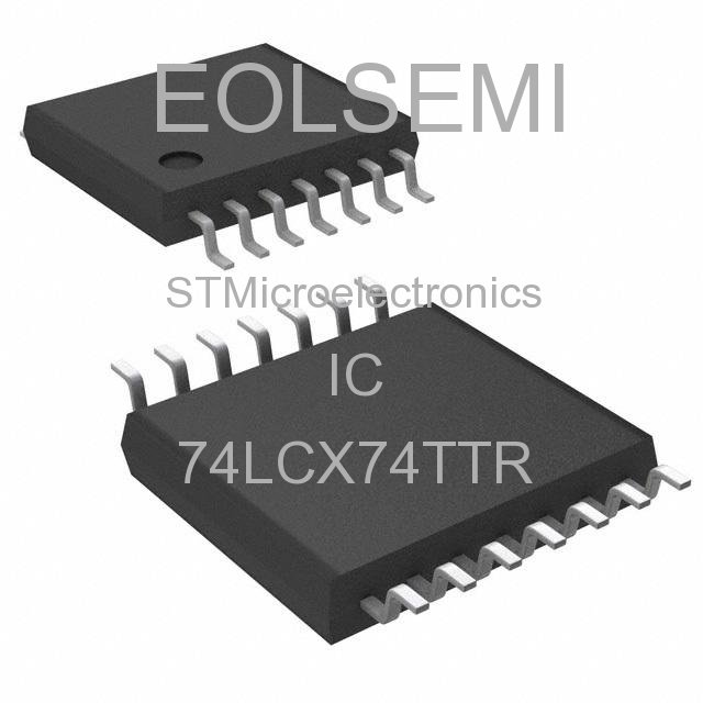 74LCX74TTR - STMicroelectronics - IC